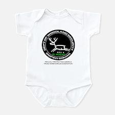 Dept Of Woodland Security Deer Infant Body Suit