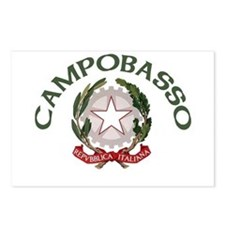 Campobasso, Italy Postcards (Package of 8)