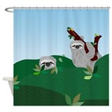 Sloth Shower Curtains