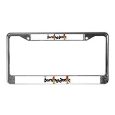 Dorky License Plate Frame