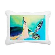 winged one Rectangular Canvas Pillow