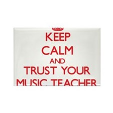 Keep Calm and trust your Music Teacher Magnets