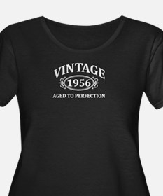 Vintage 1956 Aged to Perfection Plus Size T-Shirt
