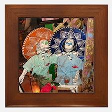 Dia de los Muertos Framed Tile