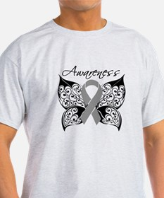 Brain Tumor Butterfly Awareness T-Shirt