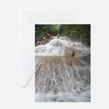 Dunn's River Falls Greeting Card