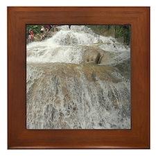 Dunn's River Falls Framed Tile