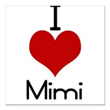 "mimi.jpg Square Car Magnet 3"" x 3"""