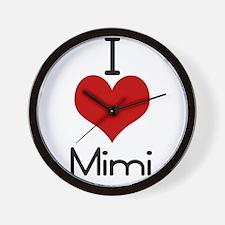 mimi.jpg Wall Clock