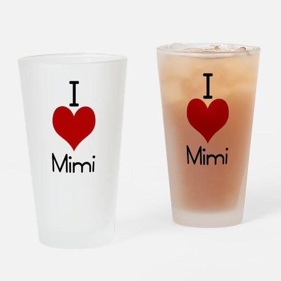 mimi.jpg Drinking Glass