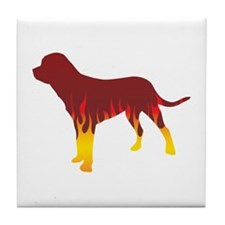 Tosa Flames Tile Coaster