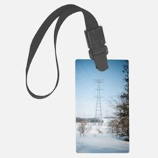 winter power Luggage Tag