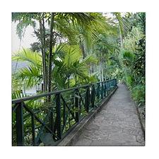 Road to Paradise Tile Coaster