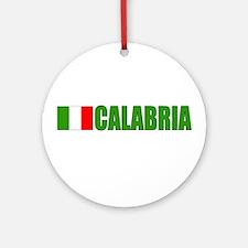 Calabria, Italy Ornament (Round)