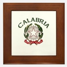 Calabria, Italy Framed Tile