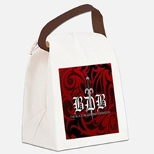 Bdb Red Canvas Lunch Bag