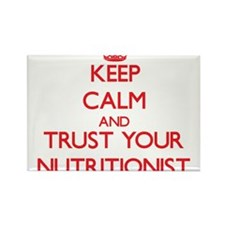 Keep Calm and trust your Nutritionist Magnets