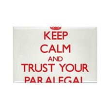 Keep Calm and trust your Paralegal Magnets