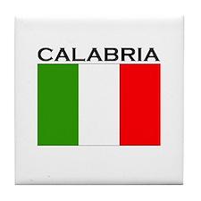 Calabria, Italy Tile Coaster