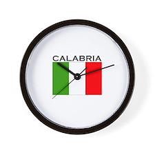 Calabria, Italy Wall Clock