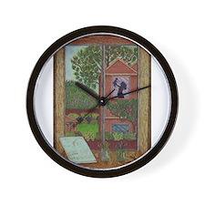 Girdners Nature Child Wall Clock