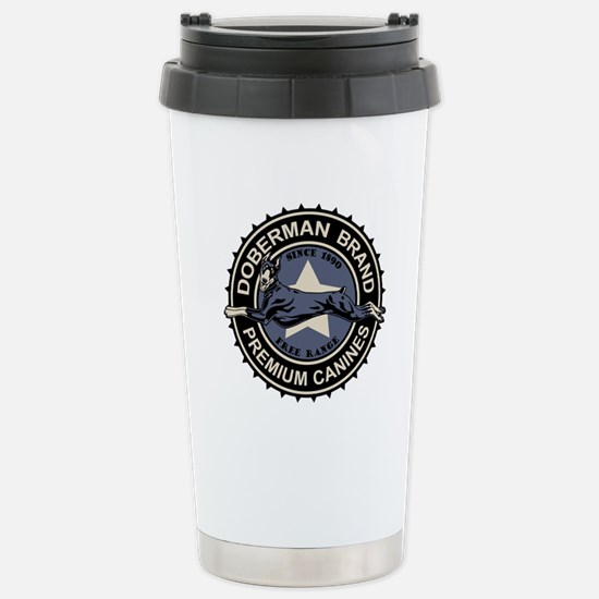 Doberman Brand Stainless Steel Travel Mug