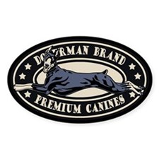 Doberman Brand Decal