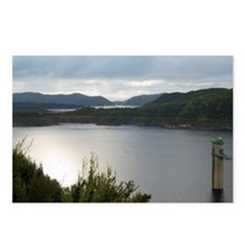 gordon river hydro plant Postcards (Package of 8)