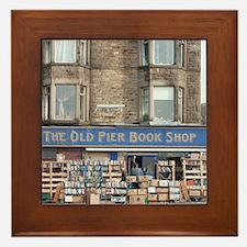 Exterior of the Old Pier Bookshop Framed Tile