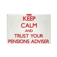 Keep Calm and trust your Pensions Adviser Magnets