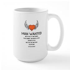 Man Wanted Mugs