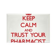Keep Calm and trust your Pharmacist Magnets