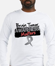 Brain Tumor Matters Long Sleeve T-Shirt