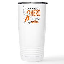 Leukemia Heaven Needed Travel Coffee Mug