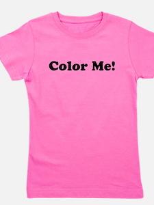 Color Me! Girl's Tee