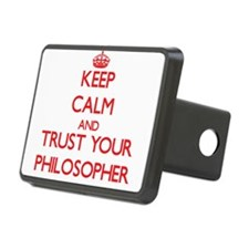 Keep Calm and trust your Philosopher Hitch Cover