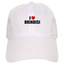 I Love Brindisi, Italy Baseball Cap