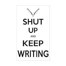 Keep Writing Decal