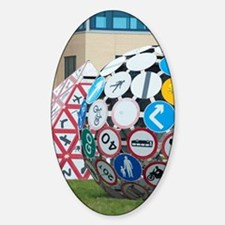 Sculptures on the Magic Roundabout Decal