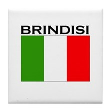 Brindisi, Italy Tile Coaster