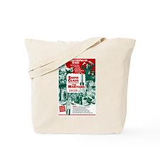 Santa Conquers The Martians Tote Bag