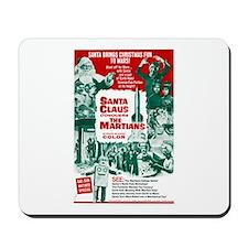Santa Conquers The Martians Mousepad