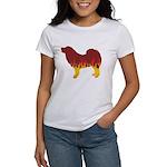 Mastiff Flames Women's T-Shirt