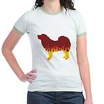 Mastiff Flames Jr. Ringer T-Shirt