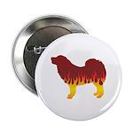 Mastiff Flames Button