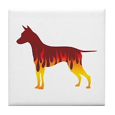 Ridgeback Flames Tile Coaster