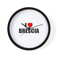 I Love Brescia, Italy  Wall Clock