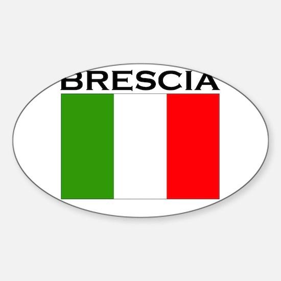Brescia, Italy Oval Decal