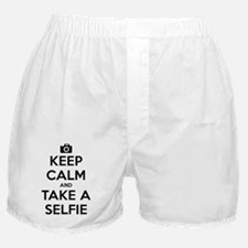 Keep Calm and Take a Selfie Boxer Shorts