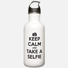 Keep Calm and Take a Selfie Water Bottle